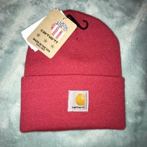 Carhartt Beanie Pink New With Tags
